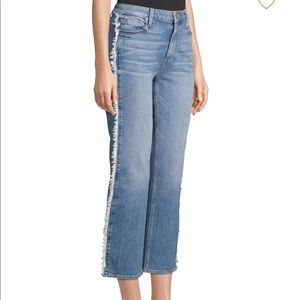 Paige noella straight leg cropped jeans 26